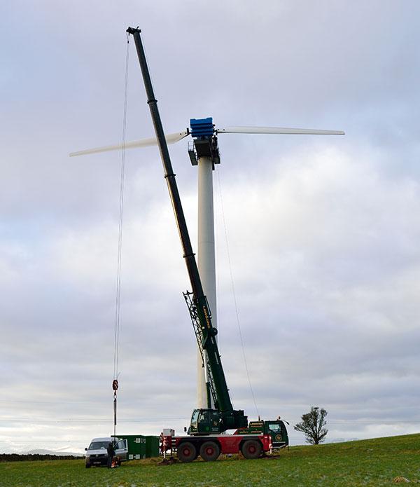 Wind Turbine Servicing